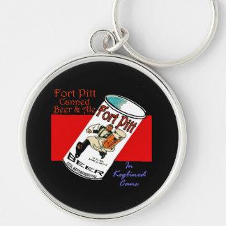 Fort Pitt Beer Key Ring