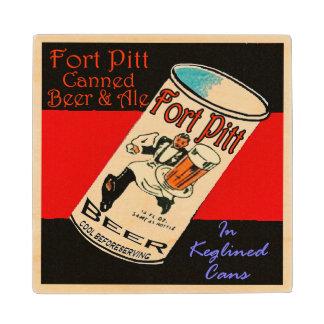 Fort Pitt Beer Wood Coaster