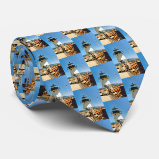 Fort Point Lighthouse, California Mens Tie