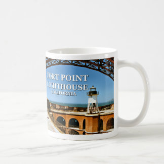 Fort Point Lighthouse, California Mug