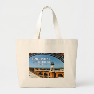 Fort Point Lighthouse, California Tote Bag