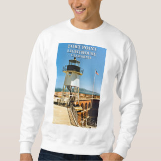 Fort Point Lighthouse, San Francisco Sweatshirt