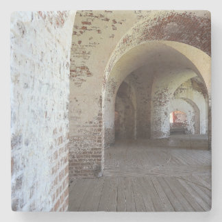 Fort Pulaski Hall Stone Coaster
