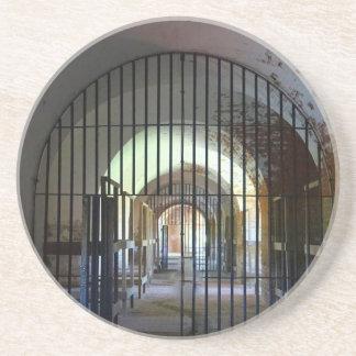 Fort Pulaski Jail Sandstone Coaster
