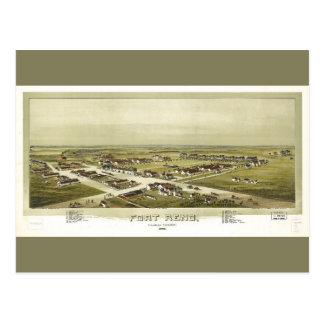 Fort Reno, Oklahoma Territory (1891) Postcard