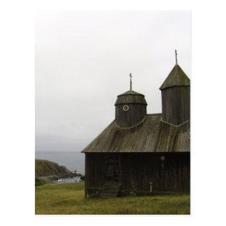 Fort Ross Russian Settlement Postcard