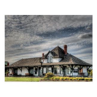 Fort Saskatchewan Train Station, Alberta Postcard
