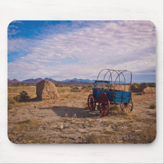 Fort Selden Army Wagon Mouse Pad