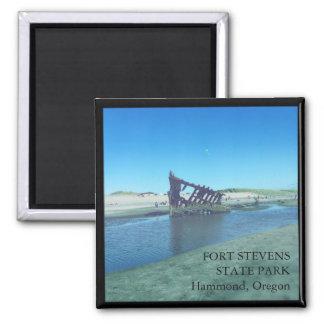 Fort Stevens State Park Oregon 2 inch Magnet
