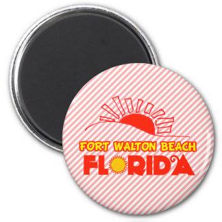 Fort Walton Beach, Florida 6 Cm Round Magnet