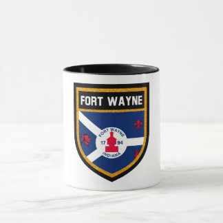 Fort Wayne Flag Mug