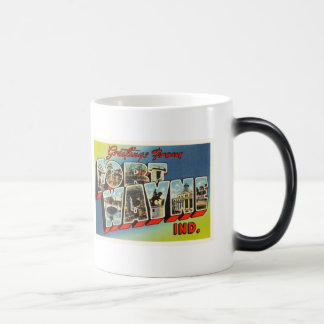 Fort Wayne Indiana IN Old Vintage Travel Souvenir Magic Mug