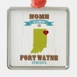 Fort Wayne, Indiana Map – Home Is Where The Heart
