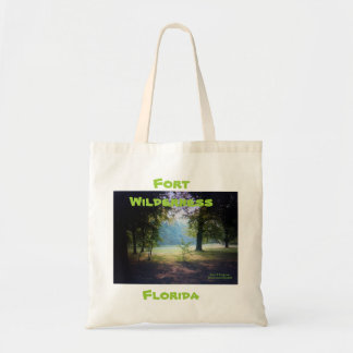 """FORT WILDERNESS FLORIDA TOTE"" TOTE BAG"