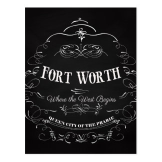 Fort Worth, Texas - Queen City of the Prairie Postcard