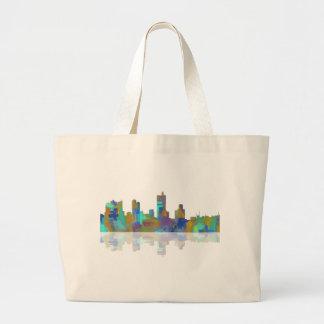 Fort Worth Texas Skyline Jumbo Tote Bag