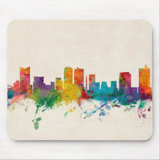 Fort Worth Texas Skyline Mousemats