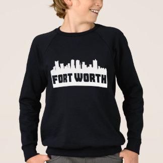 Fort Worth Texas Skyline Sweatshirt