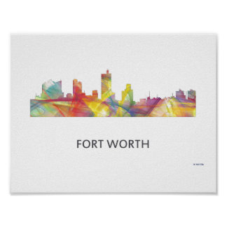 FORT WORTH, TEXAS WB1 - POSTER