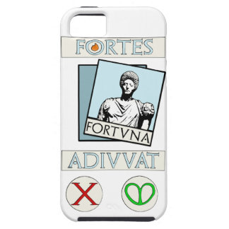 Fortes Fortuna Adiuvat Case For The iPhone 5