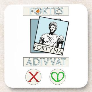 Fortes Fortuna Adiuvat Coaster