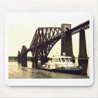 Forth Rail Bridge Mouse Pad