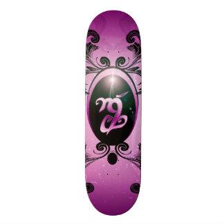 Fortitude, rune custom skateboard