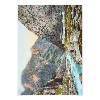 Fortress in the Dariel Ravine, Caucasus, Russia Magnetic Invitations