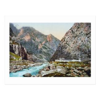 Fortress in the Dariel Ravine, Caucasus, Russia Postcard