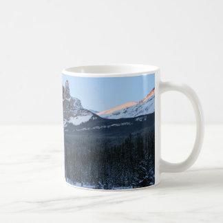 Fortress Mountain Basic White Mug