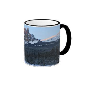 Fortress Mountain Ringer Coffee Mug