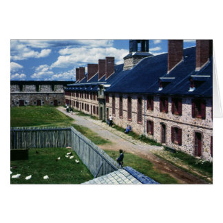 Fortress of Louisbourg Card