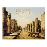 Fortuna Street, Pompeii, Italy Postcard