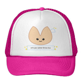 Fortune Cookie Fortune - customizable! Mesh Hats