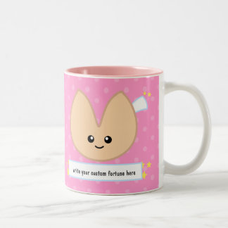Fortune Cookie Fortune - customizable! Two-Tone Coffee Mug