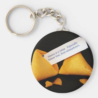 Fortune Cookie Keychain