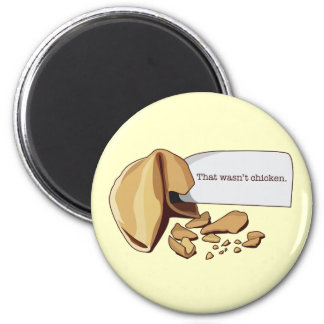 Fortune Cookie Fridge Magnet
