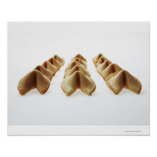 Fortune Cookies in three rows Poster