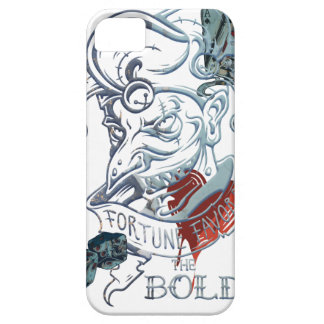 Fortune Favors Bold Joker Card Gambling Poker Barely There iPhone 5 Case