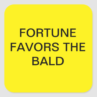 FORTUNE FAVORS THE BOLD STICKERS