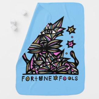 """Fortune Fools"" Baby Blanket"