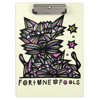 """Fortune Fools"" Clipboard"