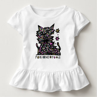 """""""Fortune Fools"""" Toddler Ruffle Tee"""