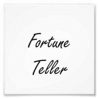 Fortune Teller Artistic Job Design Photographic Print