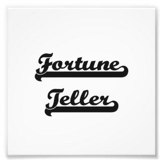 Fortune Teller Classic Job Design Photo Print