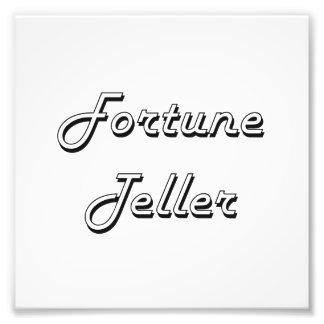 Fortune Teller Classic Job Design Art Photo