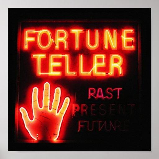 Fortune Teller - Past Present & Future Posters