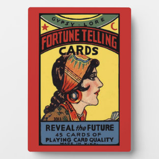 Fortune Telling Cards Tabletop Plaque
