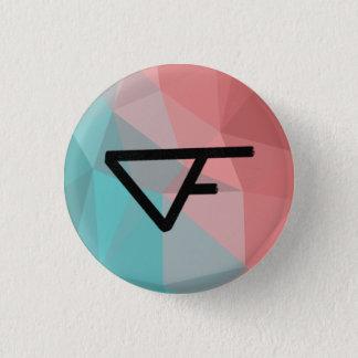 Fortwas 3 Cm Round Badge