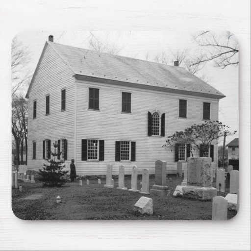 Forty Forty Pa. Meeting House Mousepad